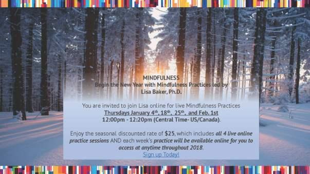 Mindfulness January 2018 Invitation
